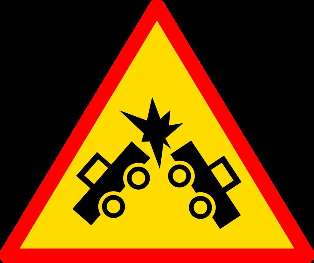 stłuczka drogowa - BLS